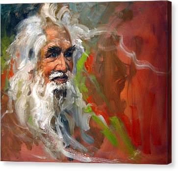 Canvas Print - Wise Old Man by Andrew Judd