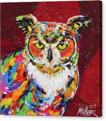 Wise One Canvas Print by Tracy Miller