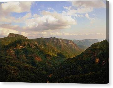 Canvas Print featuring the photograph Wiseman's View by Jessica Brawley