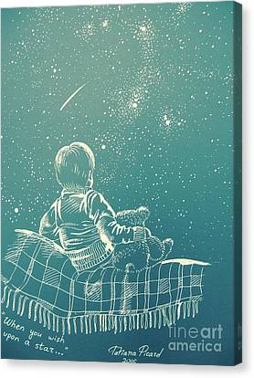 Wish On A Star Canvas Prints Fine Art America
