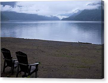 Wish You Were Here - Peaceful Lake Canvas Print
