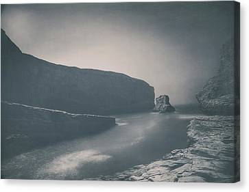 Sea Stacks Canvas Print - Wish You Were Still Here by Laurie Search