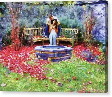 Wishing Pond Canvas Print by Jai Johnson
