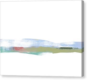 Wispy Mountain Air Canvas Print by Jacquie Gouveia