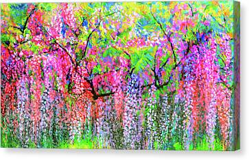 Wisteria Dream 09 Canvas Print