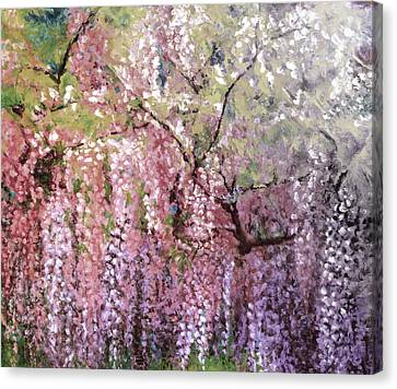 Wisteria Dream 18 Canvas Print