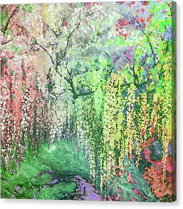 Wisteria Dream 20 Canvas Print