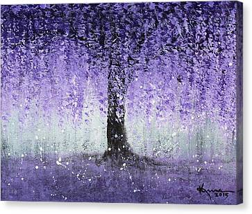 Wisteria Dream Canvas Print by Kume Bryant