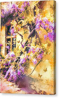 Wisteria Dream Canvas Print