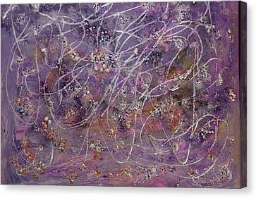 Wisteria Painting  Canvas Print by Don  Wright