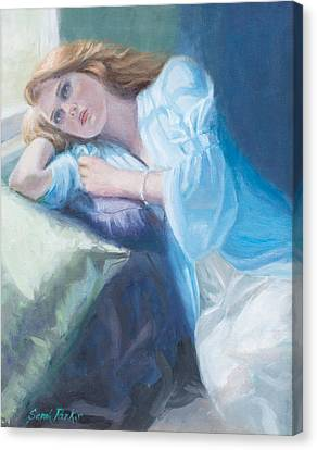 Wistful Canvas Print by Sarah Parks
