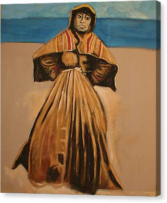 Witch By The Sea Canvas Print by Biagio Civale