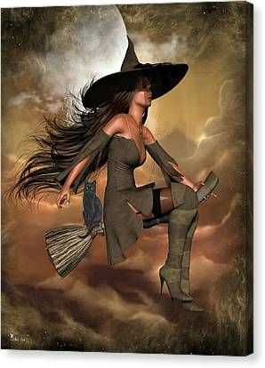 Witch Way  Canvas Print