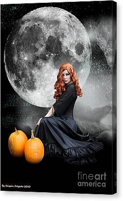 Witching Hour  Canvas Print by Crispin  Delgado