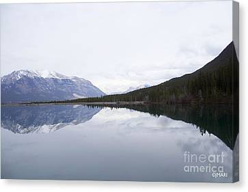 With A Clear Conscience Canvas Print