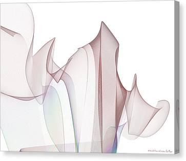 With A Flourish Canvas Print by Jim  Plaxco
