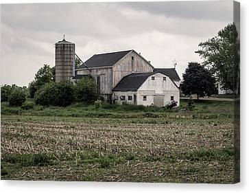 Franklin Farm Canvas Print - With The Passage Of Time by Kim Hojnacki