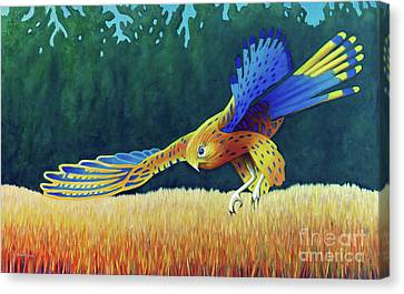 With These Wings Canvas Print by Brian Commerford