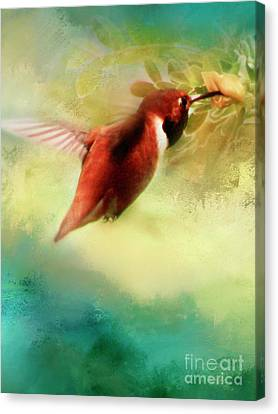 Within An Instant Canvas Print by Janie Johnson