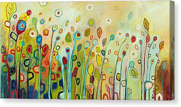 Nature Abstract Canvas Print - Within by Jennifer Lommers