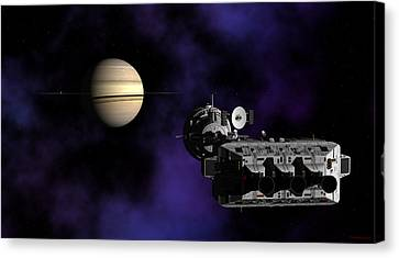 Canvas Print featuring the digital art Within Reach by David Robinson