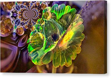 Canvas Print featuring the photograph Within The Mind Meld by Jeff Swan