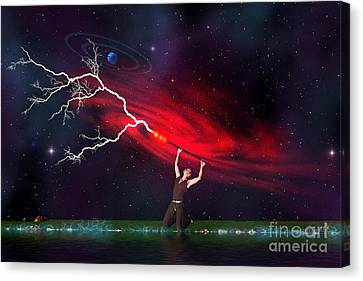Wizard Canvas Print by Corey Ford