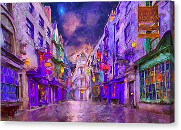 Wizard Mall Canvas Print by Caito Junqueira