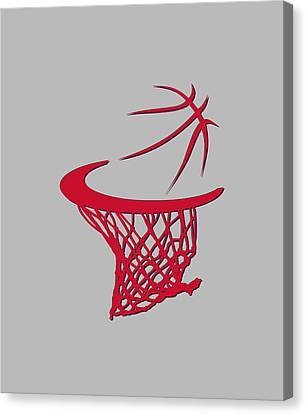 Wizards Basketball Hoop Canvas Print by Joe Hamilton