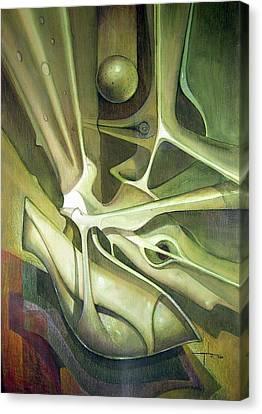 Wl1989dc004 New Dimension Of The Light 26 X 37.6 Canvas Print by Alfredo Da Silva