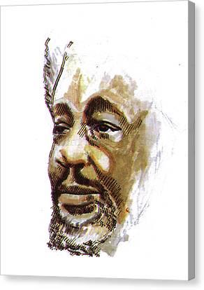 Wole Soyinka Canvas Print