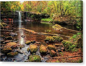 Wolf Creek Falls Canvas Print by RC Pics