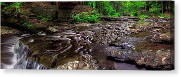 Wolf Creek Panorama Canvas Print by Mark Papke