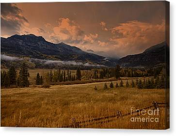 Wolf Creek Pass Canvas Print by Timothy Johnson