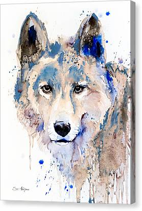Wolf  Canvas Print by Slavi Aladjova