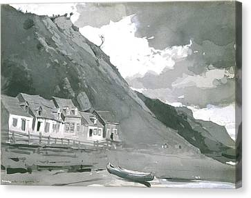 Wolfe's Cove Quebec Canvas Print by Winslow Homer
