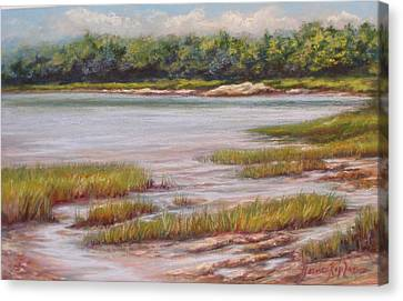 Wolfe's Neck State Park Canvas Print