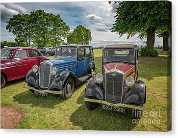 Canvas Print featuring the photograph Wolseley Motors by Adrian Evans