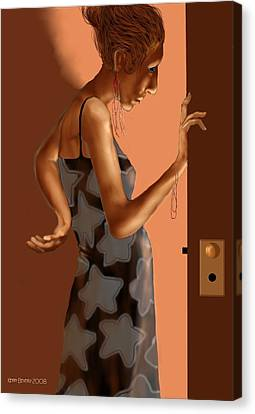 Woman 37 Canvas Print by Kerry Beverly