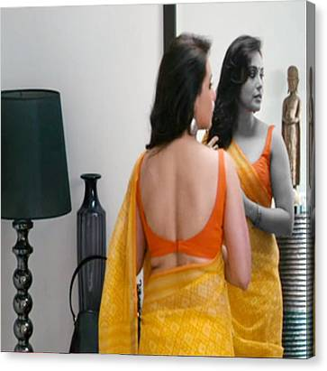 Women Grooming Obsession Esthticienne  Beautician Esthticien Fashion Couture  Canvas Print by Navin Joshi