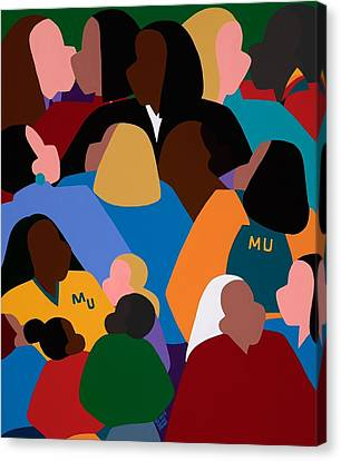 Canvas Print - Women Of Impact And Influence by Synthia SAINT JAMES