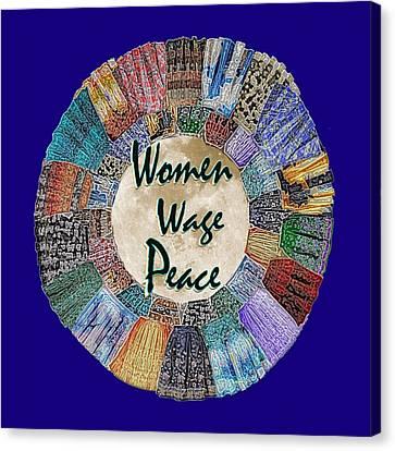 Women Wage Peace Canvas Print