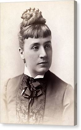 Womens Hairstyle, 1880s Canvas Print by Granger