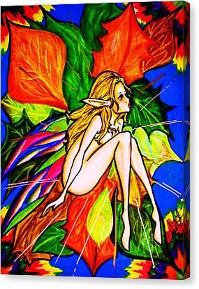 Wonder Canvas Print by Penny  Elliott