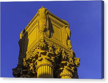 Wonderful Palace Of Fine Arts Canvas Print by Garry Gay