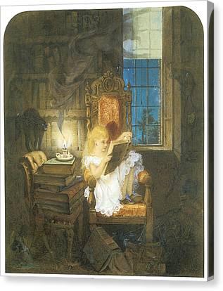 Wonderland Canvas Print by Adelaide Claxton