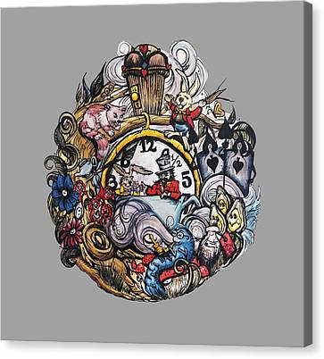 Wonderland Canvas Print by Cat Paschal Dolch