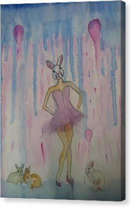 Wonderland Canvas Print by Dessie Sutej