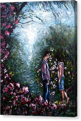 Wonderland Canvas Print by Harsh Malik
