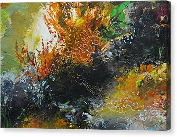 Wonders Of Coral Canvas Print by Christopher Chua